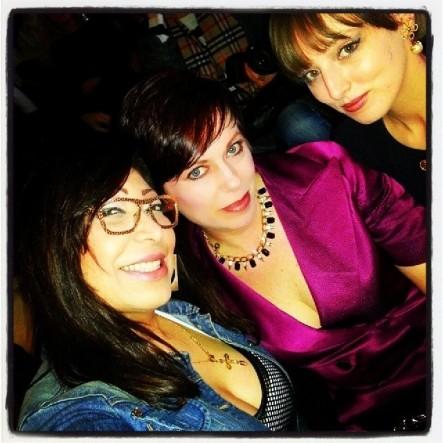 L-R: Dona @stylebydona, Helen Siwak & Courtney Ellerman @kitsilanokittyscloset