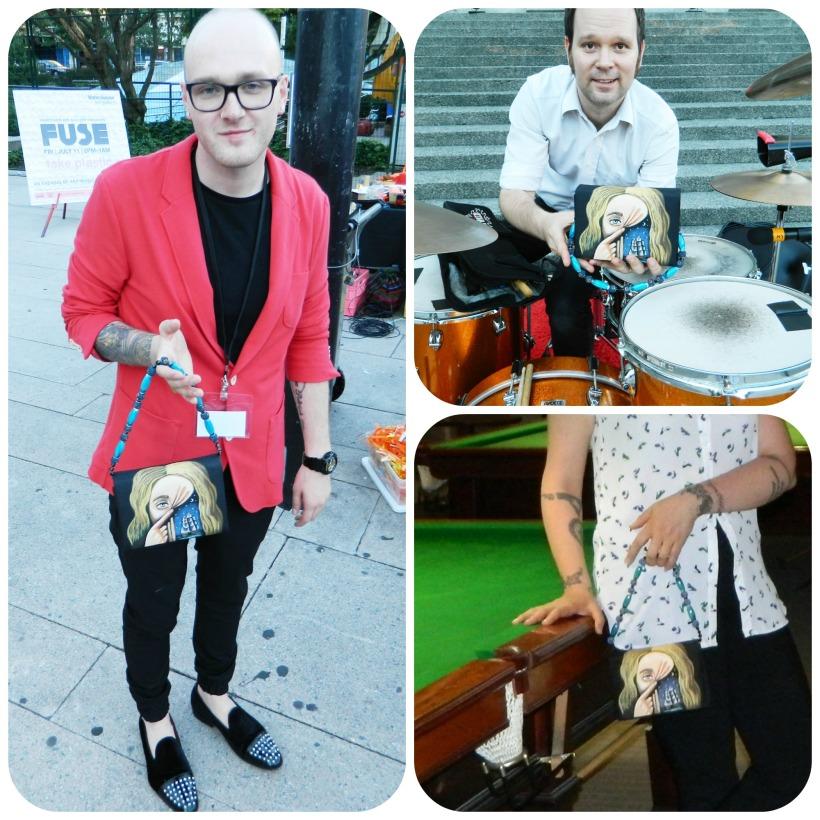 Fuse Collage 1 Joey Greene Shawn Mzarek Helen Siwak Terminal City Club Calocho Handbags