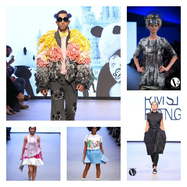 METRO LIVING ZINE IMAGE CREDIT: Vancouver Fashion Week (www.vanfashionweek.com) Clockwise: Lu Liu, Wendy Ohlendorf - Magenta, Sara Armstrong, Alex S. Yu