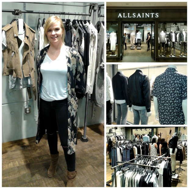 all saints, ted baker, pacific centre mall, shopping, helen siwak