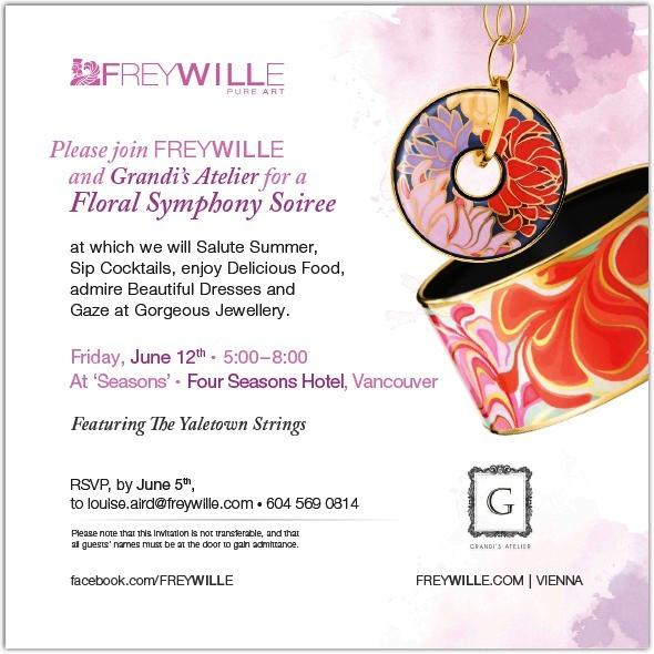 Invitation Freywille Grandi's Atelier
