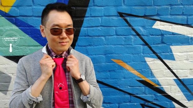 nicky knot, ritchie po, knotwerk by ritchie po, helen siwak, vancouver, yvr, vancity, menswear, necktie, gay pride