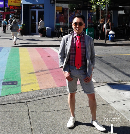 nicky knot, murrell, ritchie po, knotwerk by ritchie po, helen siwak, vancouver, yvr, vancity, menswear, necktie, gay pride