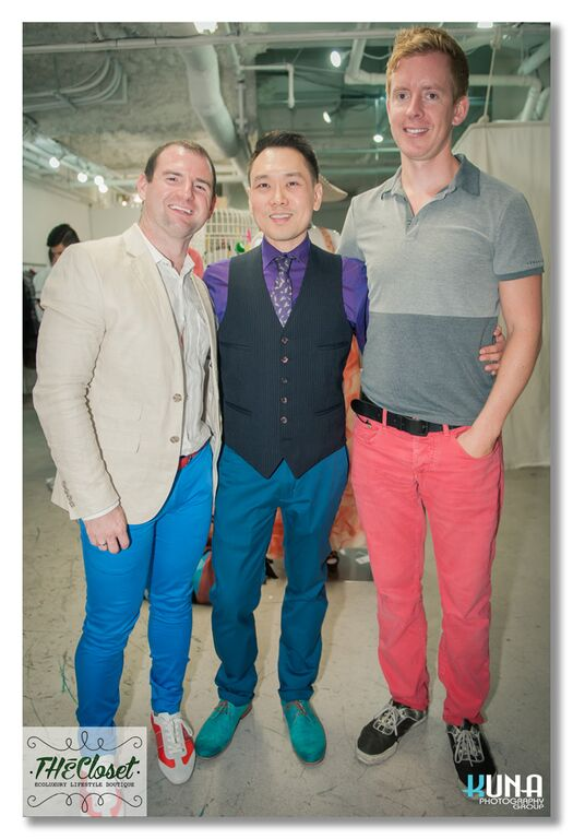 Aaron Thul, Ritchie Po, Matt O'Grady