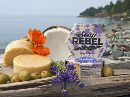 Soap Rebel, soap, rebellion, all natural, handcrafted, luxurious