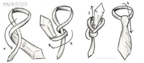 bill blass, onassis, necktie, ritchie po, helen siwak, knotwerk by ritchie po