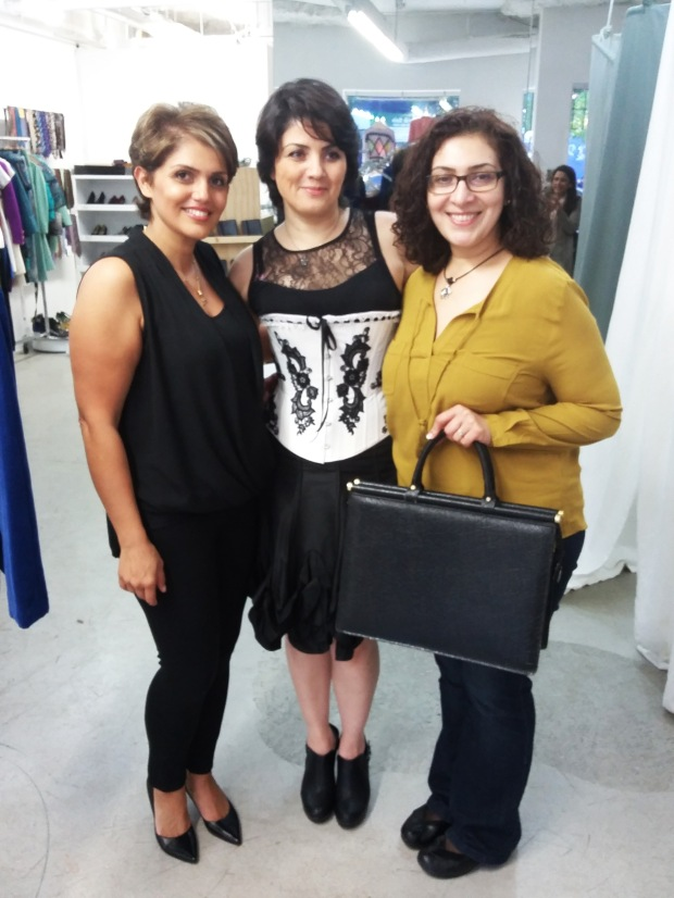 Marjan Rabbani, Sweet Tea Reception, THECloset YVR, Helen Siwak