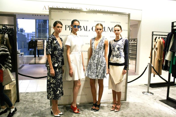 prabal gurung, maxime favreau, nordstrom, vancouver, helen siwak, thecloset yvr, yvr