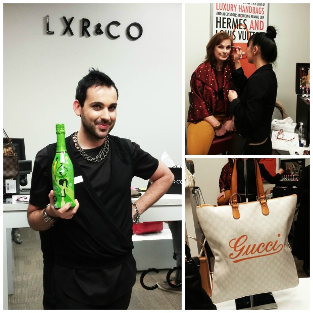 LXRCO, Hudsons Bay, Helen Siwak, Vlassis Xanthopoulos, luxury, handbags, accessories, vancouver