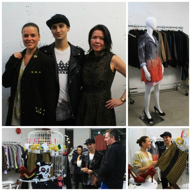 Stevie Crowne, LuxRedux, The Closet YVR, Helen Siwak, upcycled, recycled