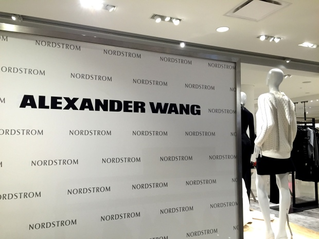 Alexander Wang, Maxime Favreau, Helen Siwak, Nordstrom, PopIn, PopUp,