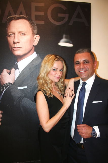 Omega, James Bond, Spectre, Hollinrake PR, Ritchie Po, Helen Siwak