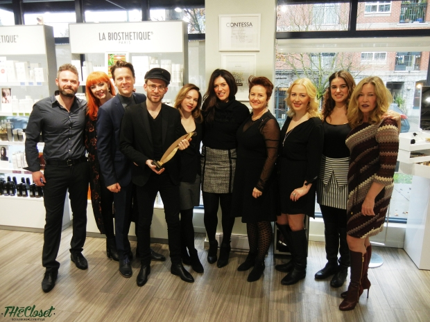 Dylan Beatch, Black 2 Blond, Michelle Phaneuf, Helen Siwak, La Biosthetique, Vancouver, YVR