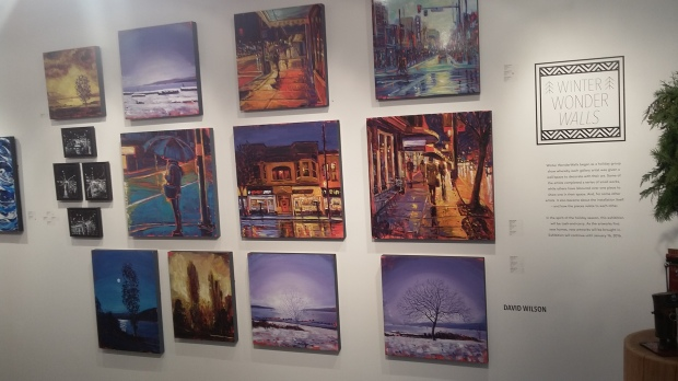 Kimoto Gallery, Winter WonderWalls, South Granville, Kevin Boyle, Vancouver, Vancity, YVR, Helen Siwak
