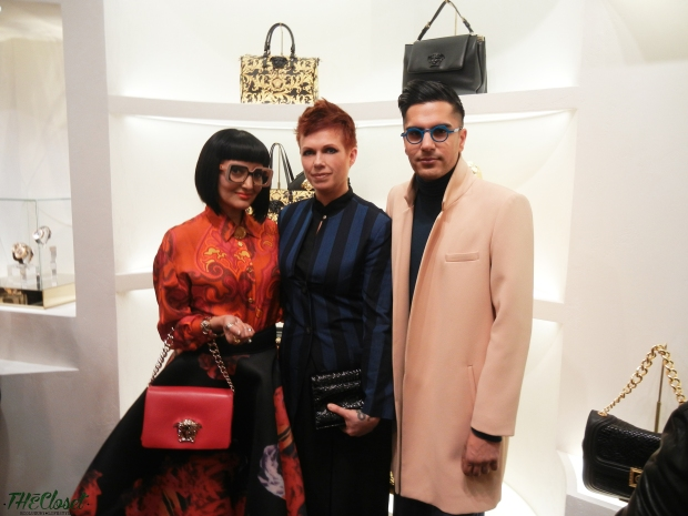 Versace, Vogue, Vancouver, Bentall, Helen Siwak